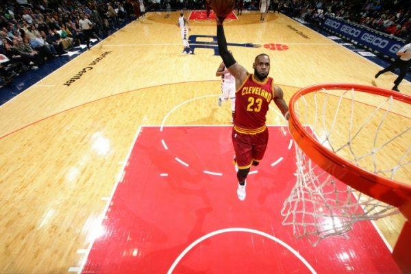 LeBron James Washington Wizards