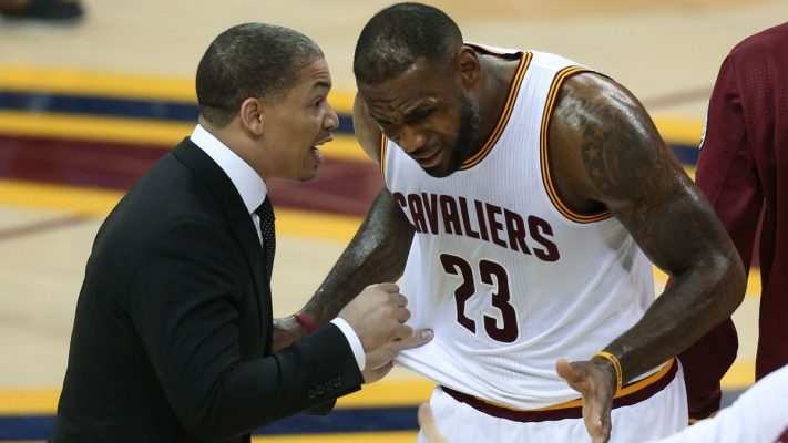 Tyronn Lue LeBron James