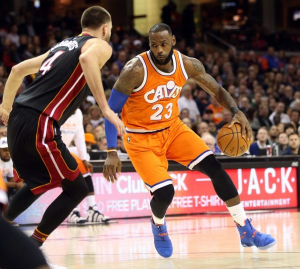 LeBron James vs. Heat