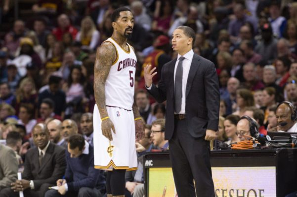 J.R. Smith Tyronn Lue