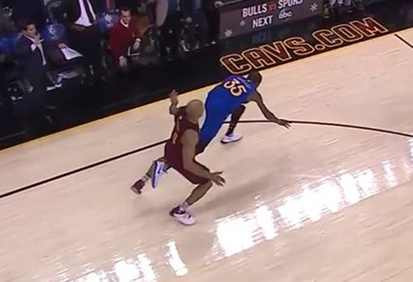 Richard Jefferson Kevin Durant Foul