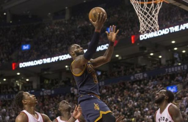 LeBron James vs. Toronto Raptors
