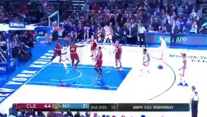 LeBron James Rejects Carmelo Anthony