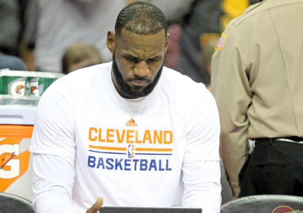 LeBron James Ipad Bench