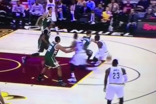 Video: Kyrie Irving Cooks Matthew Dellavedova With Series of Crossovers