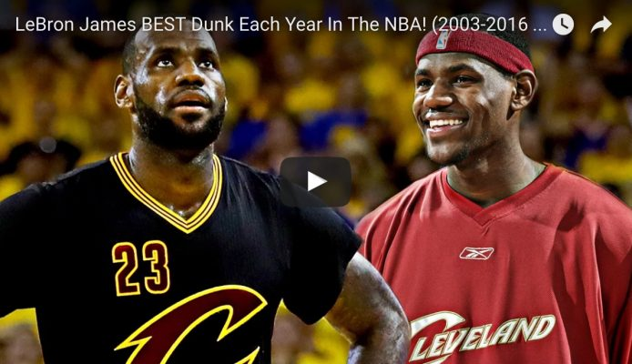 LeBron James Best Dunks