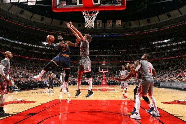 LeBron James Chicago Bulls