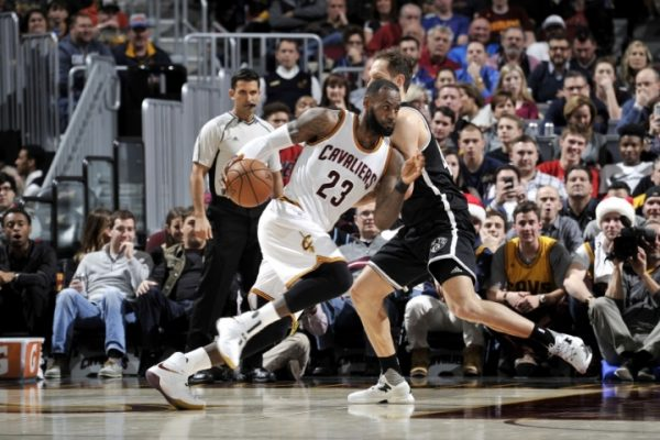 LeBron James vs. Brooklyn Nets
