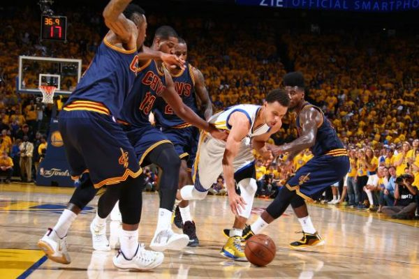 Kyrie Irving sinks impossible game-winner vs. Warriors