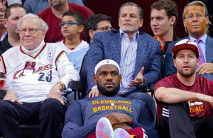 Dan Gilbert and LeBron James
