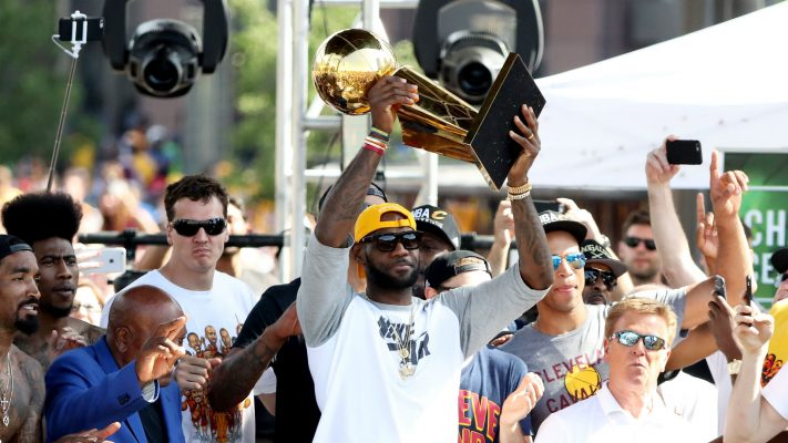 LeBron James Championship Parade