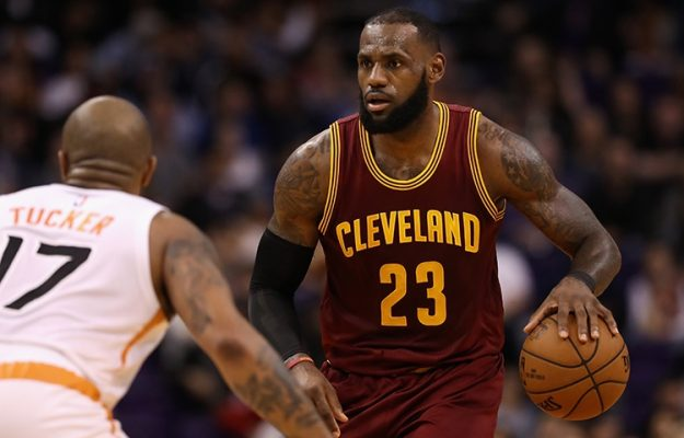 LeBron James Phoenix Suns
