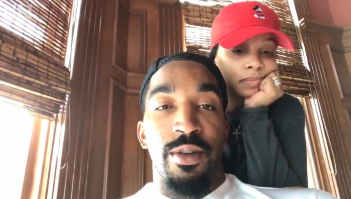 J.R. Smith and His Wife