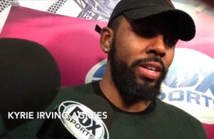 Kyrie Irving Cavs Interview