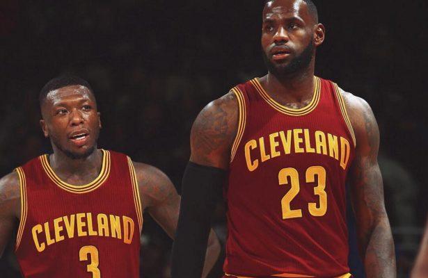Nate Robinson and LeBron James