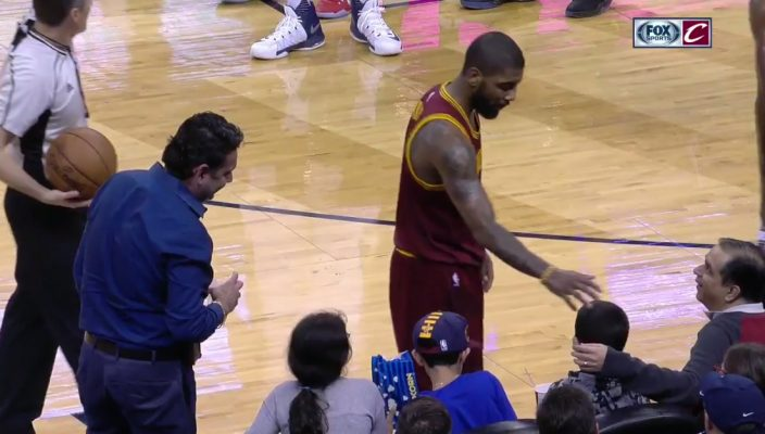 Kyrie Irving New Orleans Pelicans Fans