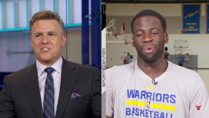Draymond Green SportsCenter LeBron James