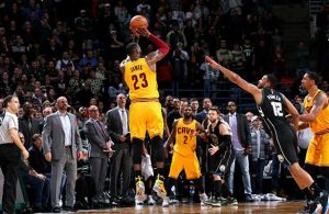 LeBron James 3-Point Shot