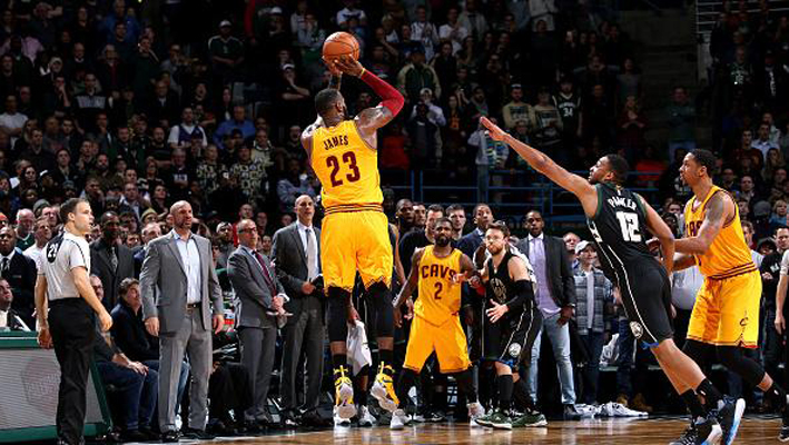 LeBron James 3-Point Shot