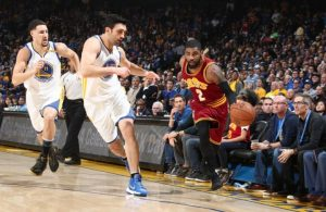 Kyrie Irving vs. Warriors
