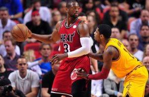 Dwyane Wade and Kyrie Irving
