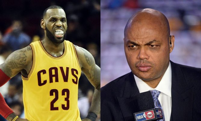 LeBron James, Charles Barkley