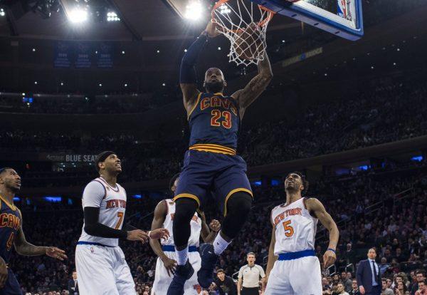 LeBron James vs. Knicks