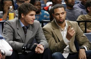 Kyle Korver and Deron Williams