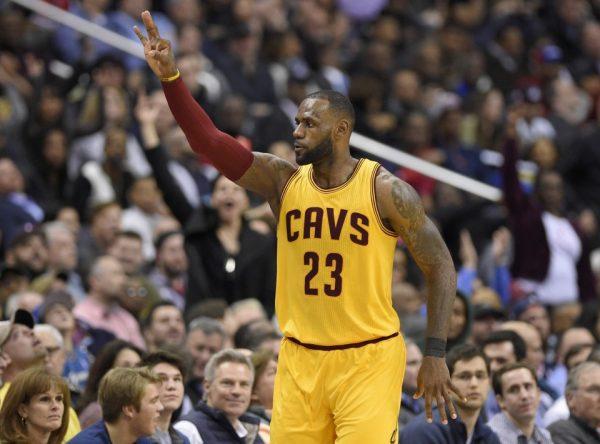 LeBron James Cavs vs. Wizards