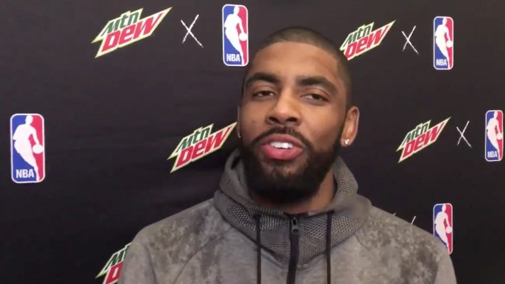 Video: Kyrie Irving Doubles Down on Flat-Earth Theory, Also Says Dinosaurs Never Existed