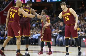 Richard Jefferson, Tristan Thompson, Kay Felder, Kyle Korver