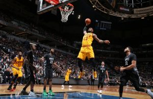 LeBron James vs. Minnesota Timberwolves
