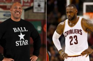 Lonzo Ball's Father and LeBron James