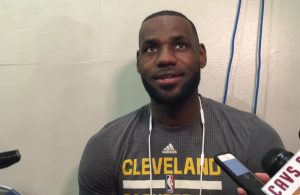LeBron James Cleveland Cavaliers Interview