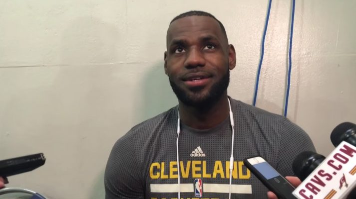 LeBron James Cleveland Cavaliers Interview