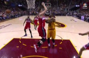 LeBron James vs. Washington Wizards