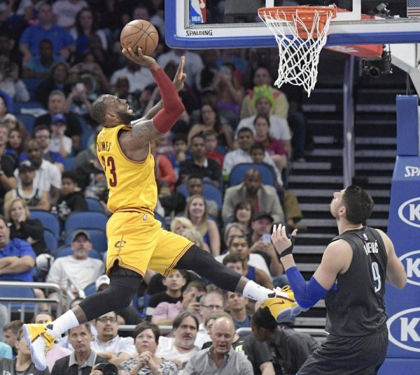 b30616aec8c2 Cleveland Cavaliers vs. Orlando Magic Game Recap  Mr. Triple-Double ...