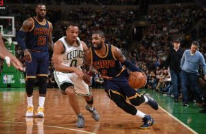 Kyrie Irving vs. the Boston Celtics