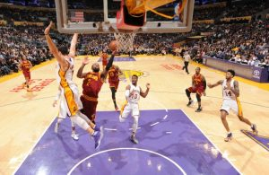 Kyrie Irving vs. Los Angeles Lakers