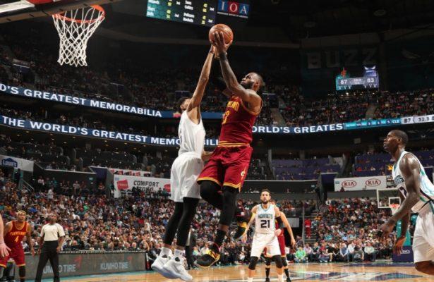 LeBron James vs. Charlotte Hornets