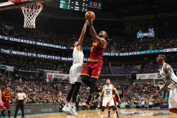 LeBron James vs. Charlotte Hornets