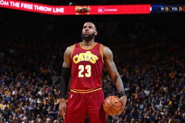 LeBron James Cavs
