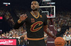 LeBron James NBA 2K17 Cavs