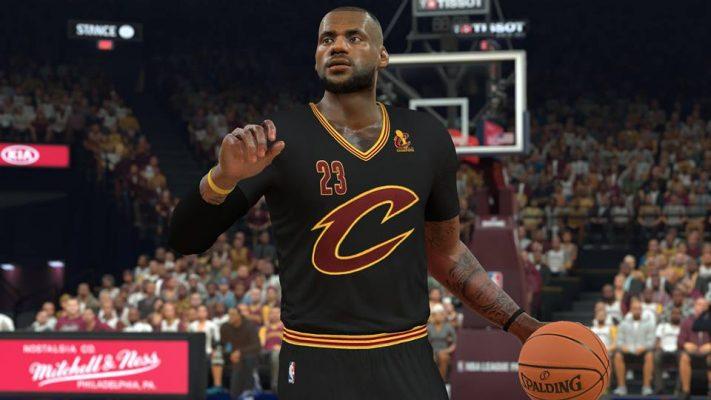 LeBron James NBA 2K17 Cavs