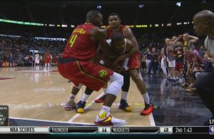 Kyrie Irving Jump Ball vs. Atlanta Hawks