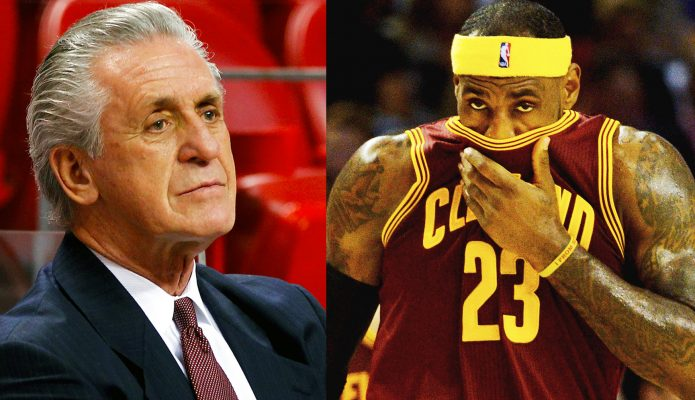 Pat Riley Speaks on Anger He Felt When LeBron James Left for Cavs