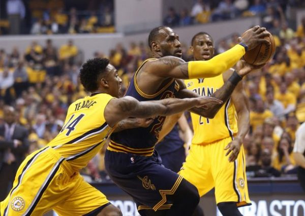 LeBron James Game 3 Indiana Pacers