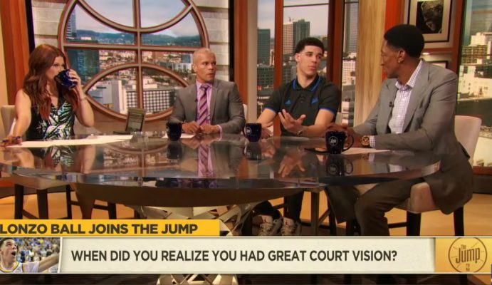 Video: Lonzo Ball Says His Personal Favorite Player Is LeBron James