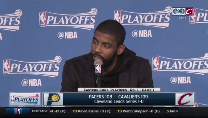 Kyrie Irving Game 1 Postgame Interview