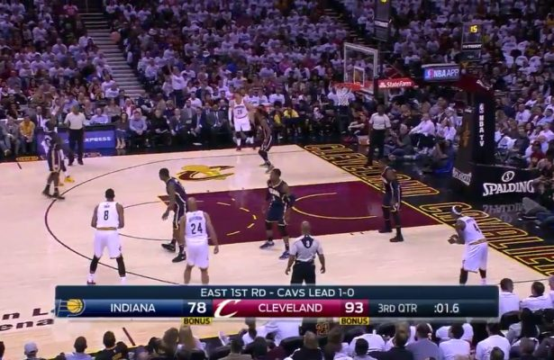 Kyrie Irving Drains 3-Pointer in Lance Stephenson's Face, Proceeds to Talk Trash
